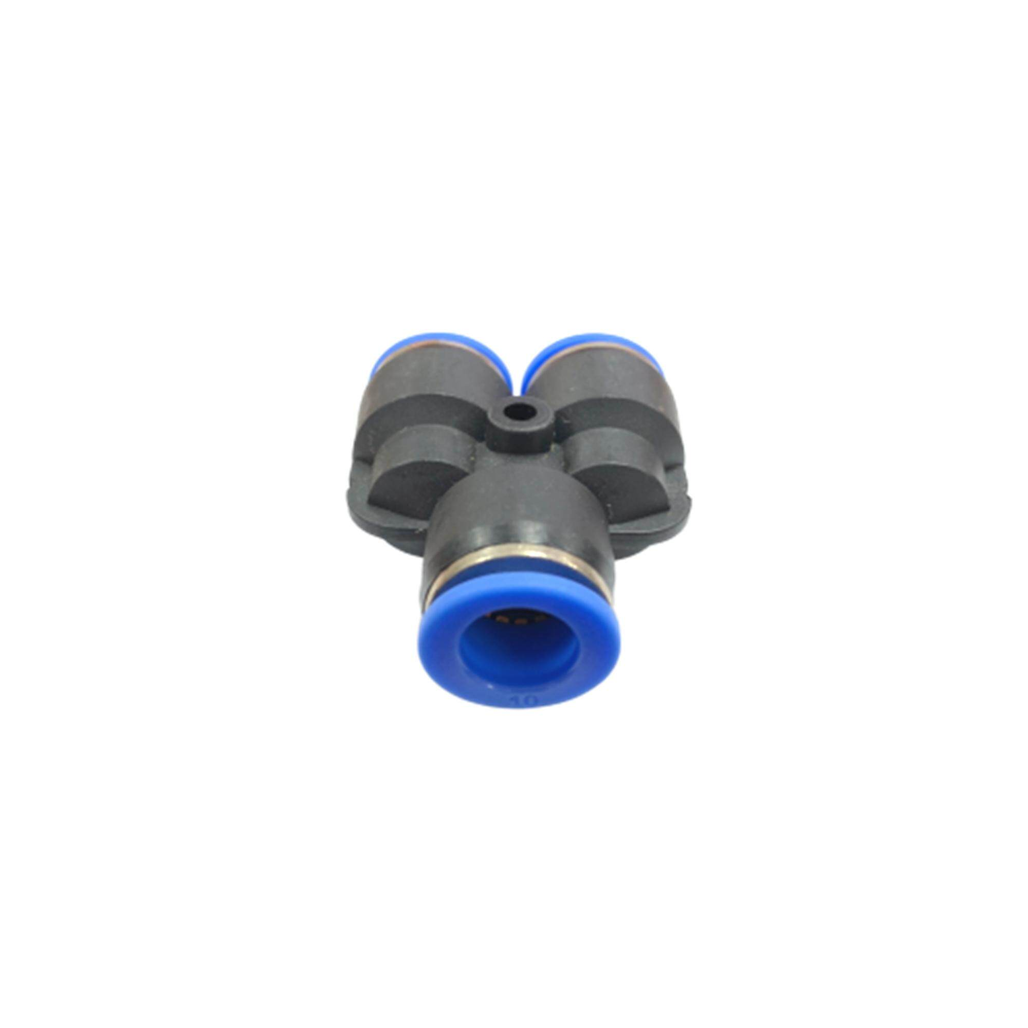 Py10 10mm Y Connector Pneumatic Air Push In Quick Fittings By Hong Sheng Store.