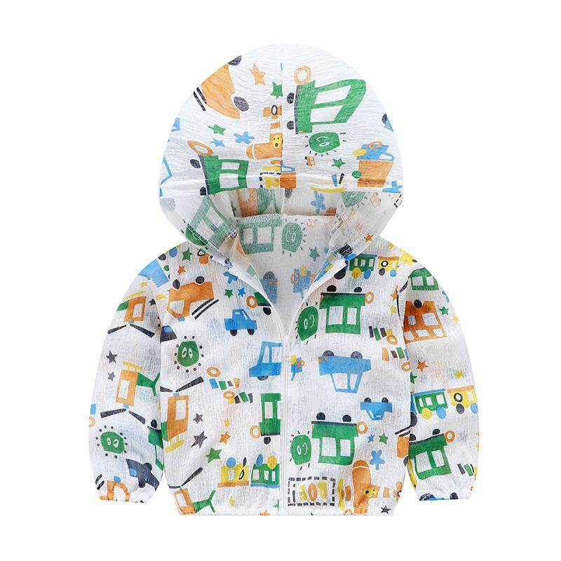 2019 Summer New Childrens Sunscreen Clothing Boys And Girls Fashion Outdoor Air Conditioning Clothing Breathable Comfort By Sweet Kids Store.