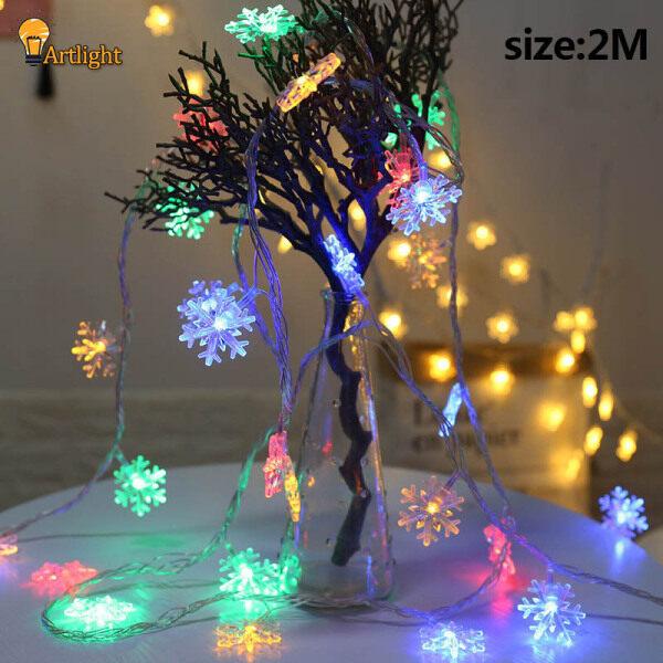 LED Dây Đèn, Bông Tuyết Treo Cây Giáng Sinh Lễ Hội Vườn Đảng Trang Trí