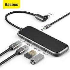 Baseus Usb Loại C Hub Để Hdmi RJ45 Lan Đa Usb 3.0 Bộ Chuyển Đổi Pd USB-C Hub Cho Macbook Pro Không Khí Dock Usbc Type-C Bộ Chia Hub Sứ Mệnh Hab