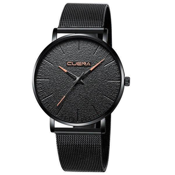 CUENA Casual Fashion luxury gold silver black Watches Mens Sport Wrist Watch Malaysia