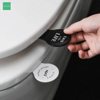 L-NGỌT NGÀO [Mua 1 Tặng Thêm 1] Phụ Kiện Phòng Tắm Phong Cách Bắc Âu Dụng Cụ Nâng Nắp Bồn Cầu Di Động Nhà Vệ Sinh Nắp Thiết Bị Nâng Hạ Tránh Chạm Vào Dụng Cụ Nâng Bồn Cầu thumbnail