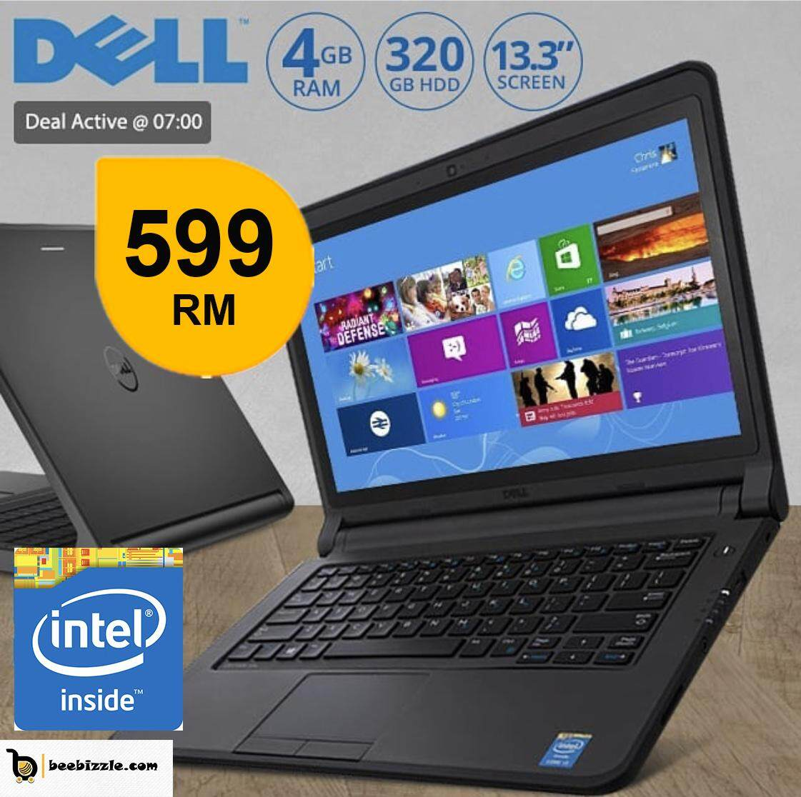 DELL LATITUDE 3150  LAPTOP,4GB RAM, 320 GB HDD,WEBCAM,WINDOWS 8,13.1 INCH AND MORE Malaysia