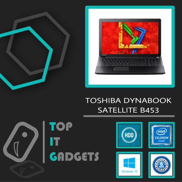 TOSHIBA DYNABOOK SATELLITE B453 [ 4TH GENERATION INTEL CELERON 1005M / 4GB DDR3 RAM / 320GB HDD STORAGE / WINDOW 10 PRO ]  6 MONTHS WARRANTY [ LAPTOP ] Malaysia