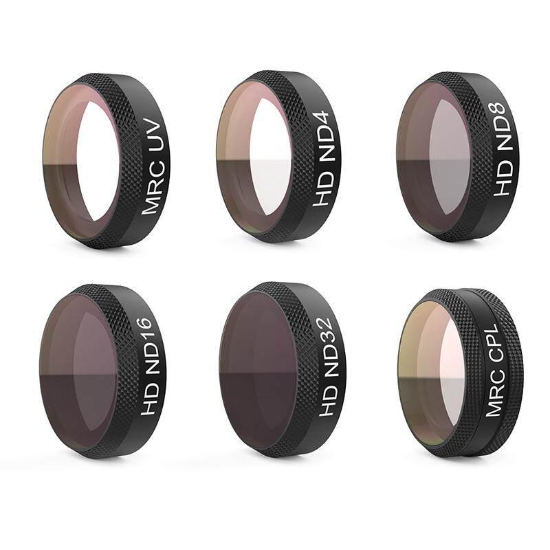 for DJI MAVIC AIR RC Drone Filter Lens Camera Filter Set Gold ND ND-PL Filter