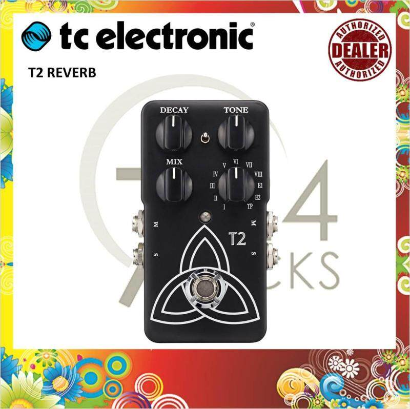 Tc Electronic T2 Reverb Effect Pedal / Reverb Pedal Malaysia