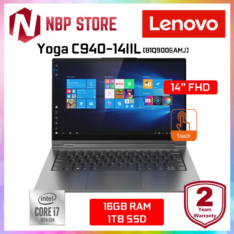 Lenovo Yoga C940-14IIL 81Q9006AMJ 14 FHD Touch Laptop Iron Grey ( i7-1065G7, 16GB, 1TB SSD, Intel, W10 ) Malaysia