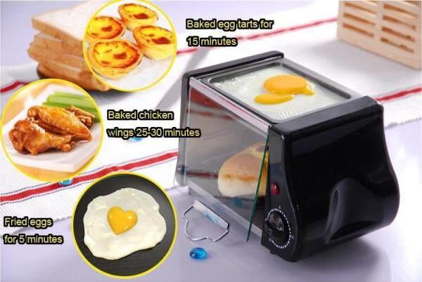 Mini Điện Lò Nướng Nướng Nướng Bánh Mỳ Máy Nướng Bánh Mì Bánh Ngọt Bít Tết Chiên Trứng Chảo Chiên Trứng Ăn Sáng Nhà Sản Xuất
