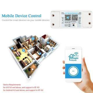 S_way Bộ Điều Khiển Công Tắc WiFi Bluetooth Thông Minh Magic Home, Ứng Dụng Android AC 100-240V 10A Hẹn Giờ Bật Tắt Bộ Điều Khiển Đèn LED thumbnail