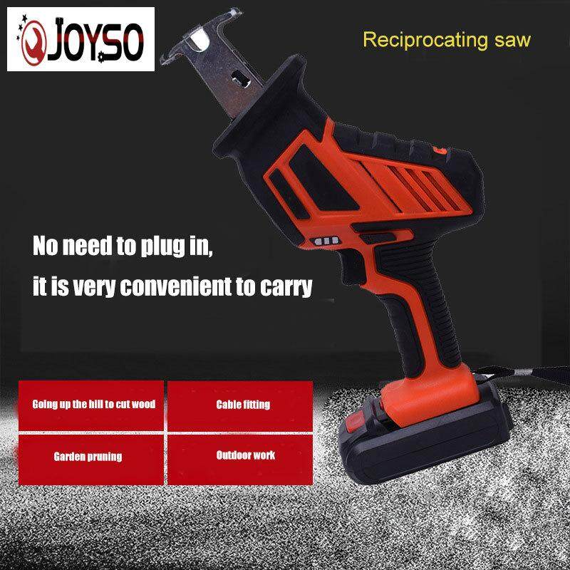 JOYSO Cordless 1-Handed Reciprocating Saw Chargeable Small Reciprocating Saw Woodworking