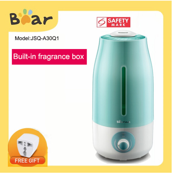 Bear 3L Air Humidifier Aroma Diffuser JSQ-A30Q1 Mosquito Repellent haze ultrasonic waves Air Purifier Aroma Oil Singapore
