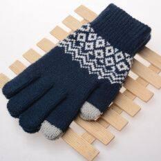 Đan thời trang ấm hơn phụ kiện mùa đông găng tay màn hình cảm ứng phụ nữ mới