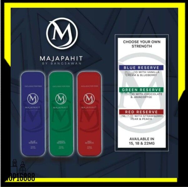 BSW Majapahit Creamy HTPC Series / 30ml HTPC Vape Ejuice / Red Reserved / Blue Reserved / Green Reserved / #15 #18 #22 Malaysia
