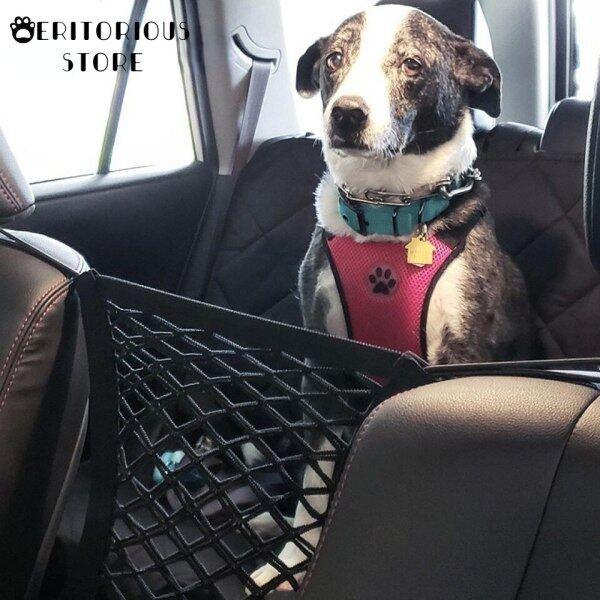 Bọc Ghế Cho Chó, Lưới Bảo Vệ Xe Hơi Túi Đựng Đồ An Toàn, Lưới Cho Thú Cưng Hàng Rào An Toàn Ghế Sau Cách Ly Du Lịch Phụ Kiện Chó Con Perro