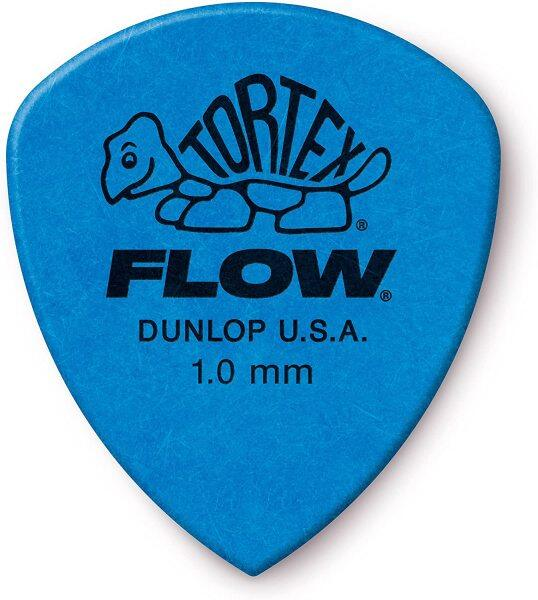 Jim Dunlop 558P100 TORTEX FLOW ® STANDARD PICK 1.00MM -12/Player Pack Malaysia