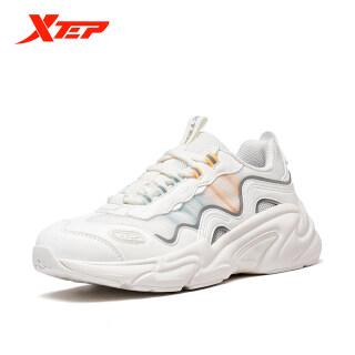 Xtep Giày Thường Ngày, Giày Thể Thao Nữ Thời Trang Khâu Da Lưới 880318326076 thumbnail