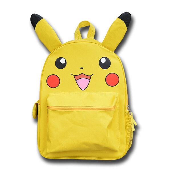 Ba Lô Hoạt Hình Pokemon Pikachu balo trẻ em balo sinh viên Ba Lô Nhẹ Thường Ngày Cho Trẻ Em Bé Trai Bé Gái Cặp Sách Nam Nữ Chống Nước Quà Tặng Sinh Nhật Cho Trẻ Em