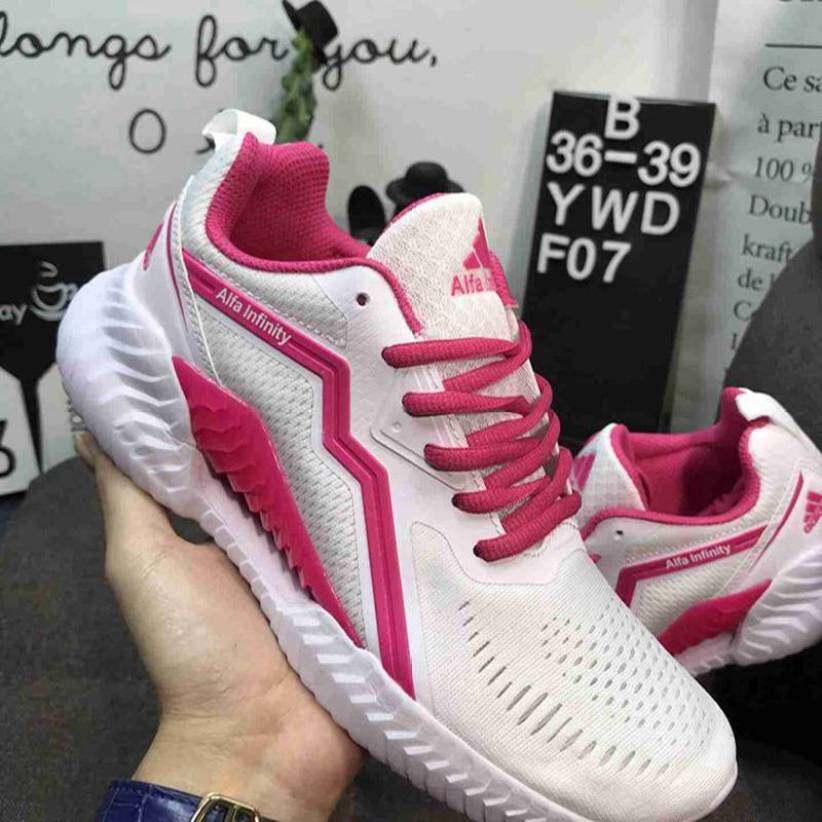 Adidas_ALFALNFINITY Giày Chạy Bộ Unisex Nhẹ Thoáng Khí Thể Thao Đi Chơi Đệm Lưới Giày Thể Thao Chính Hãng giá rẻ