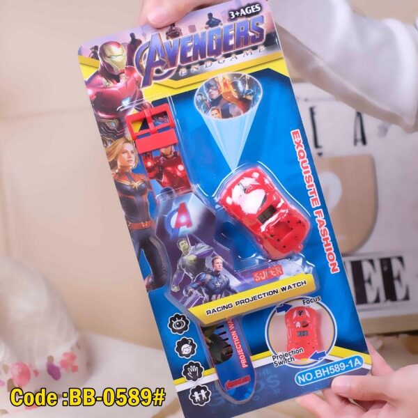 Kids Watch Avengers Racing Projection Watch Exquisite Fashion 3+ Ages Malaysia