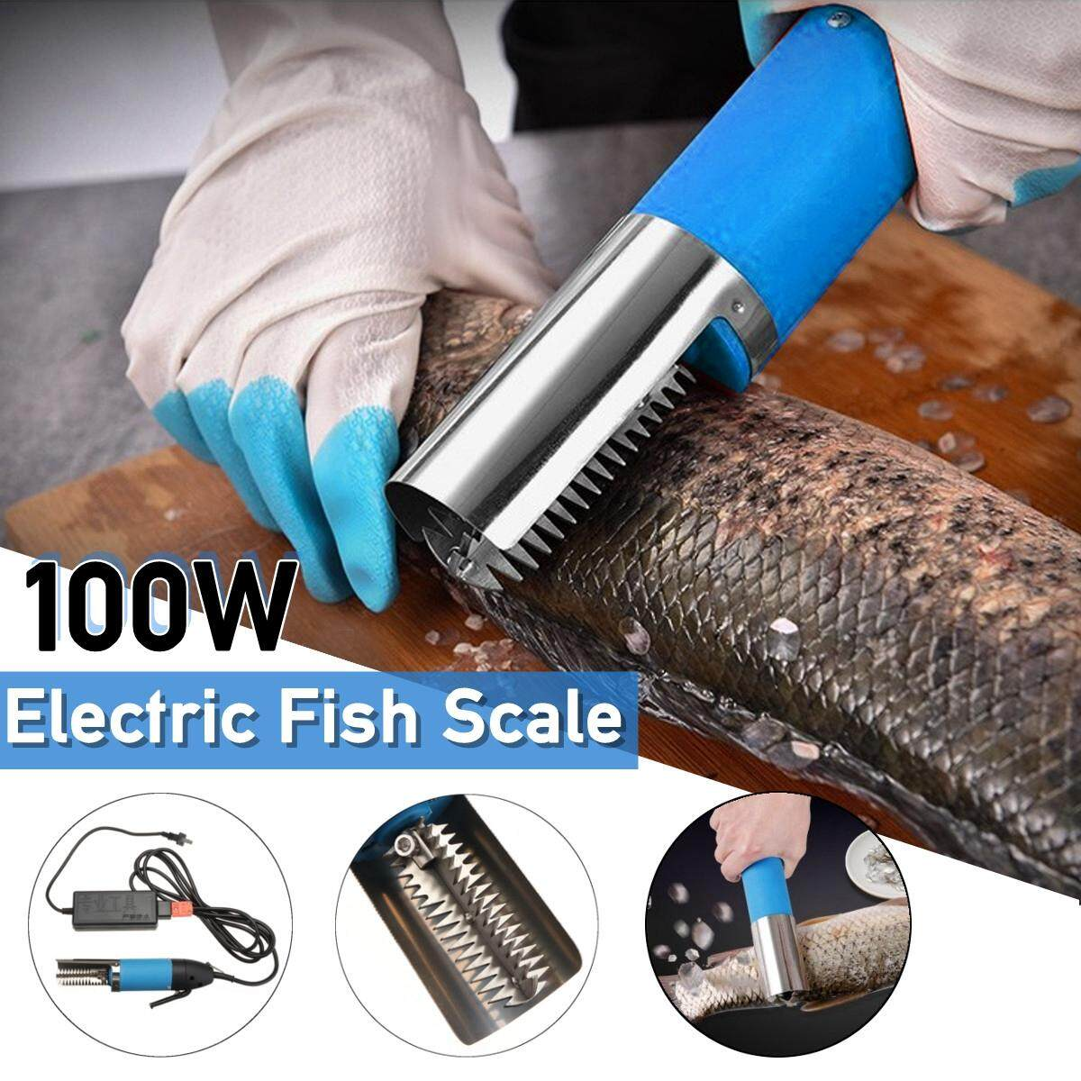 【free Shipping + Flash Deal】100w Waterproof Electric Fish Scale Scaler Remover Scraper Kni-Fe Cleaner Peeler By Freebang.