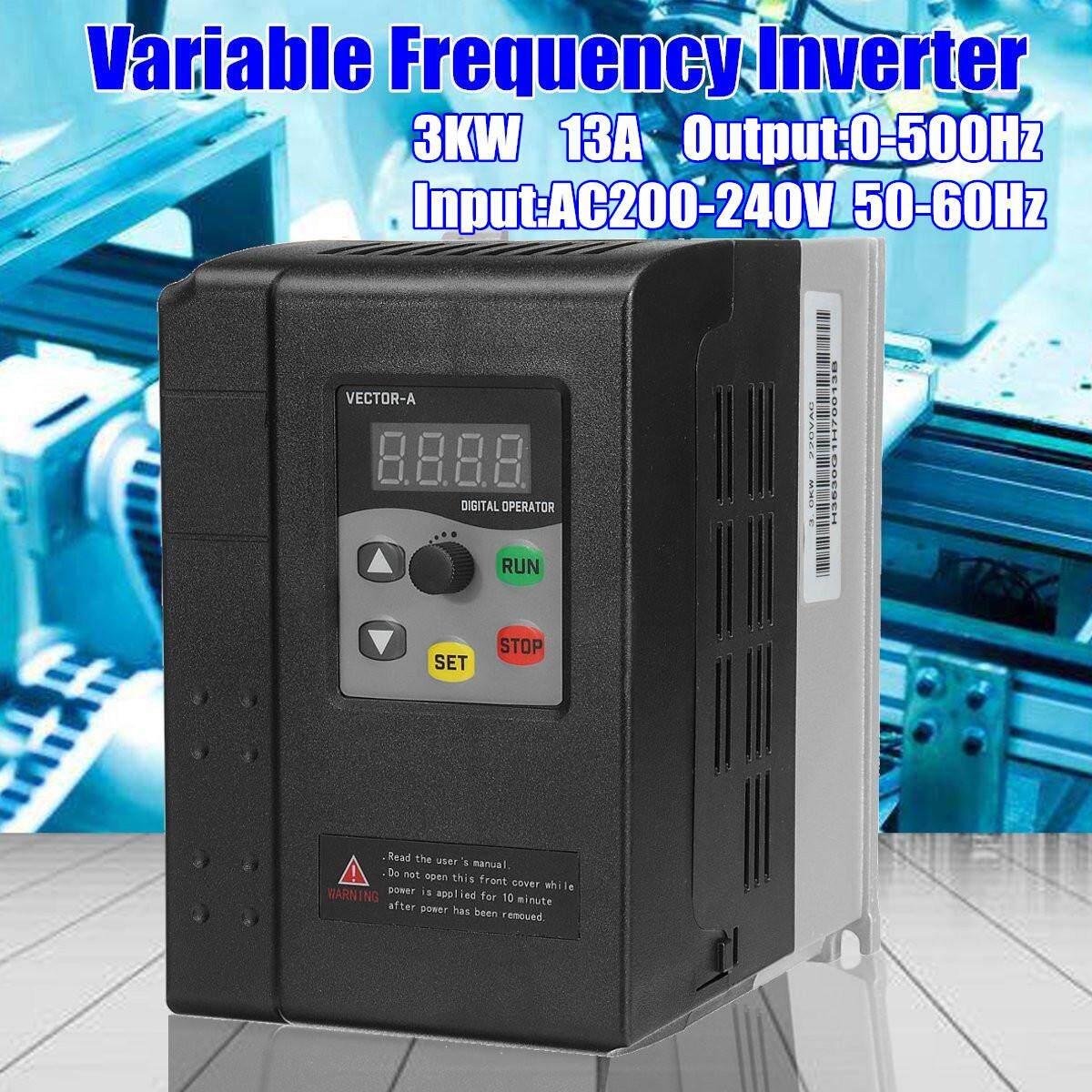 220 V 3KW Variabel Frekuensi Inverter Vector Control 1PH Ke 3PH Umum