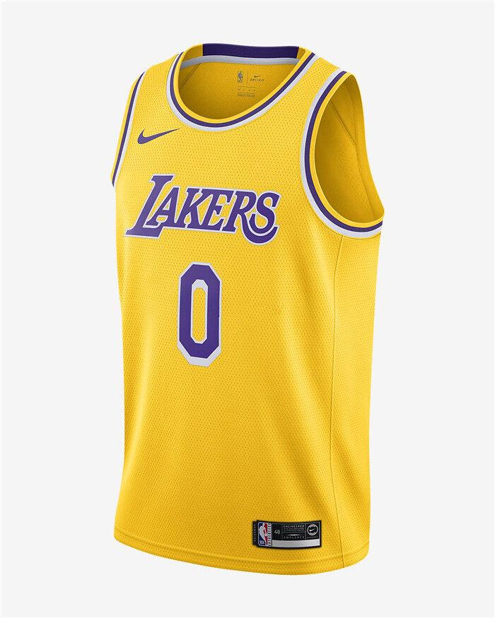 Lazada Giảm Giá Khi Mua 2019-20 Nam Số 0 Bóng Rổ Phù Hợp Với Kyle Kuzma Lakers Swinger New Jersey Mềm Siêu Nhẹ Thành Phố Phiên Bản Quốc Tế Màu Vàng
