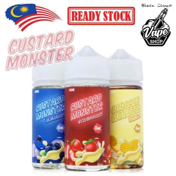 CUSTARD MONSTER 100ML - VANILLA / BLUEBERRY / STRAWBERRY Malaysia