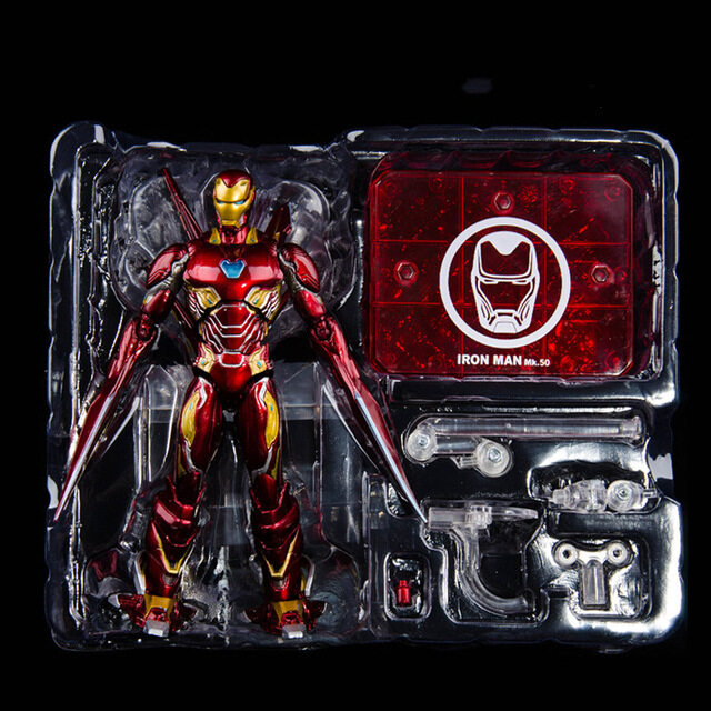 SHF Marvel Avengers Infinity War Iron Man MK50 Mark Action Figure