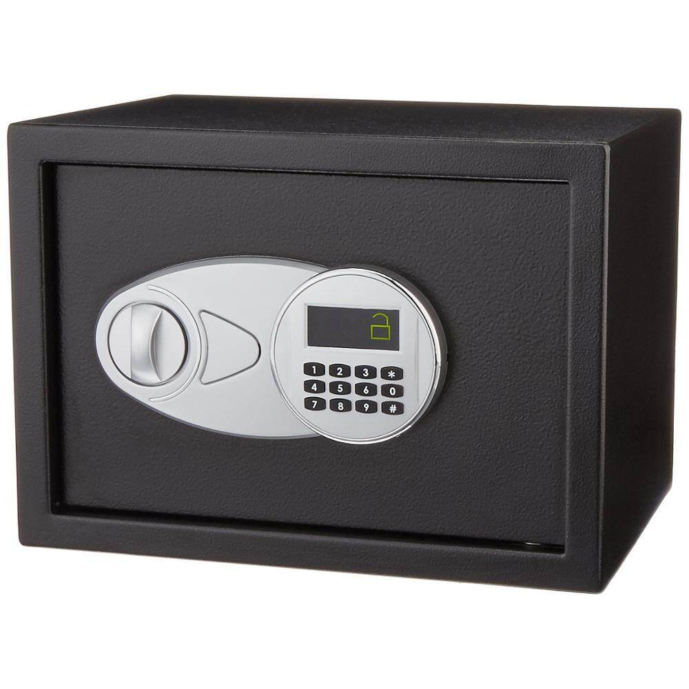 Security Safe Box 0.5 Cubic Feet Digital Depository Drop Cash Jewelry Home Hotel Lock Keypad Safety Security Box Secret stash