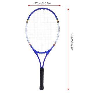 Vợt Tenis Hợp Kim Nhôm Loại Kỹ Thuật Proffisional Thích Hợp Để Chơi Hàng Ngày Và Người Mới Bắt Đầu Để Tìm Hiểu Quần Vợt thumbnail