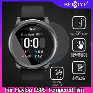 2 miếng Kính cường lực cao cấp HD cho Đồng hồ thông minh Haylou Solar LS05 Bảo vệ màn hình cho Phụ kiện phim Haylou Solar LS05 thumbnail