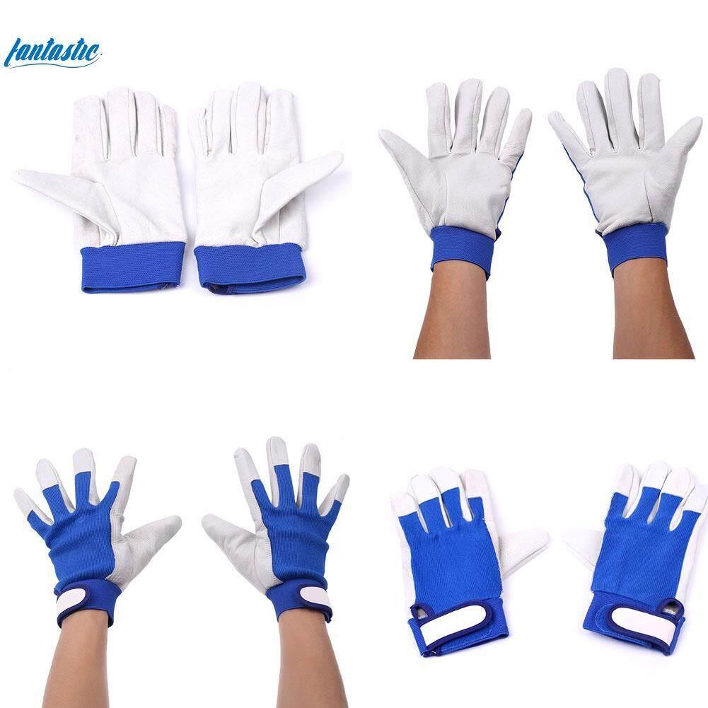 1Pair Work Welding Gloves Fireproof Heatproof Welders Security Protection