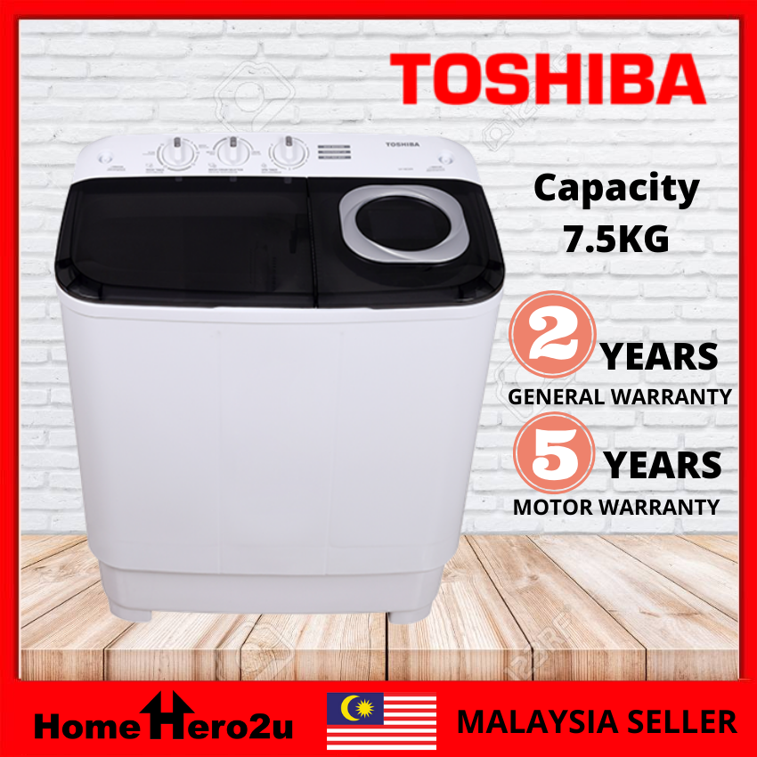 Toshiba VH-H85MM 7.5KG Semi Auto Washing Machine - Homehero2u