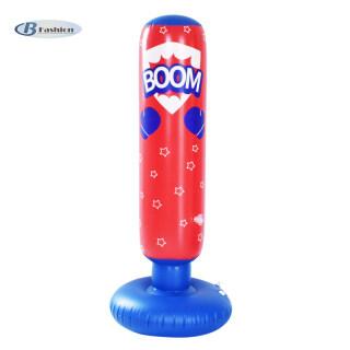 B-F Inflatable Bao Cát Thường Vụ Bao Đấm Bốc Cho Người Lớn Và Trẻ Em Đứng Thoải Mái Hộp thumbnail
