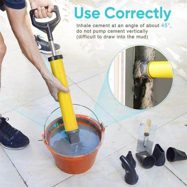 5Pcs Multifunction Cement Caulking Tool Strong Suction Caulking Tool ABS High-strength Material Grouting Tools Five in one High Quality Caulking Tool Suitable for all kinds of Decoration and Construction