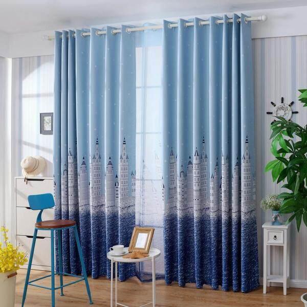 Castle Blackout Curtain Window Shading Screen Cloth Bedroom Curtain