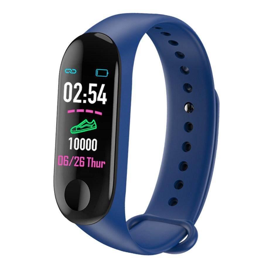 Bright M3 Pro Smart Band Waterproof Fitness Tracker Vs M3 Plus Smart Bracelet Blood Pressure Heart Rate Monitor Pk Mi Band 3 Wearable Devices