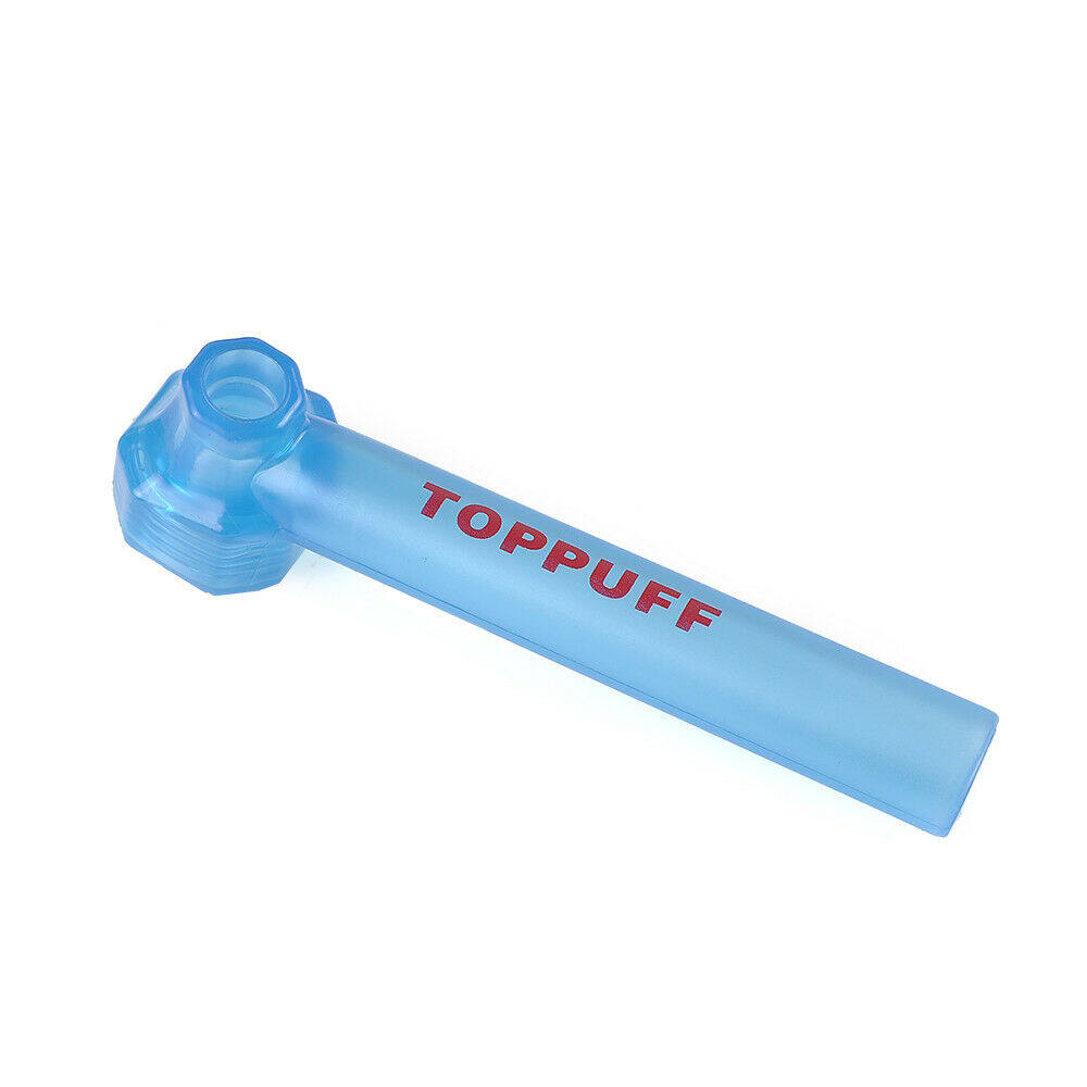 Top Puff Portable Water Glass Pipe Screw on Bottle Converter Hookah On-the-Go YY