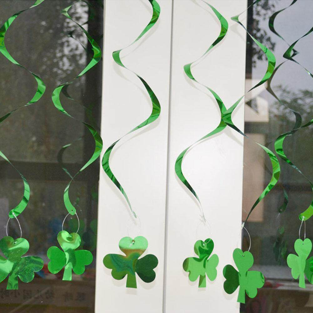 Redcolourful Lucky Clover Garlands With Hooks String Rope For St. Patricks Day Ceiling Decor By Redcolourful.