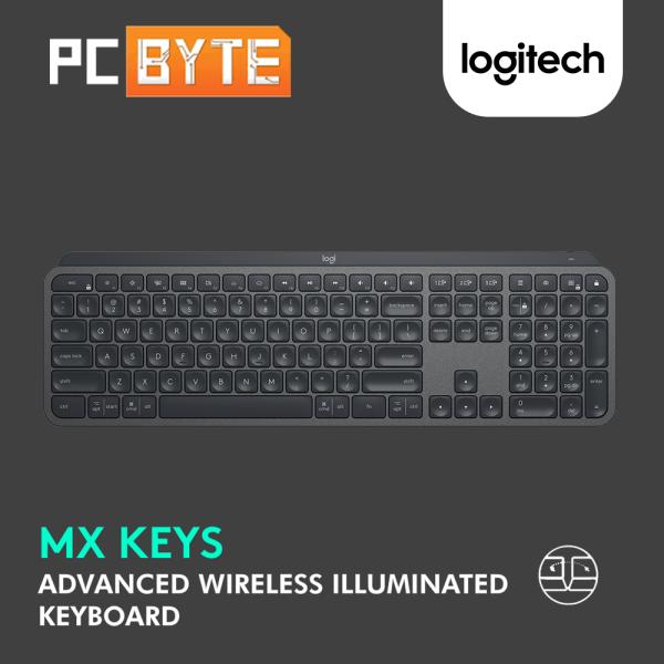 Logitech MX Keys Advanced Wireless Illuminated Keyboard (920-009418) Malaysia