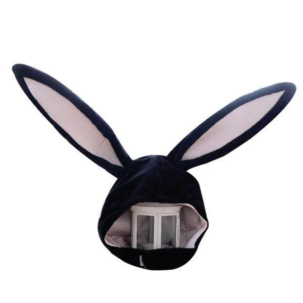 Puyongp®Mũ Tai Thỏ Nhồi Bông Dễ Thương Cho Bé Gái, Earflap Cap, Đầu Ấm Hơn Ảnh Nguồn Cung Cấp