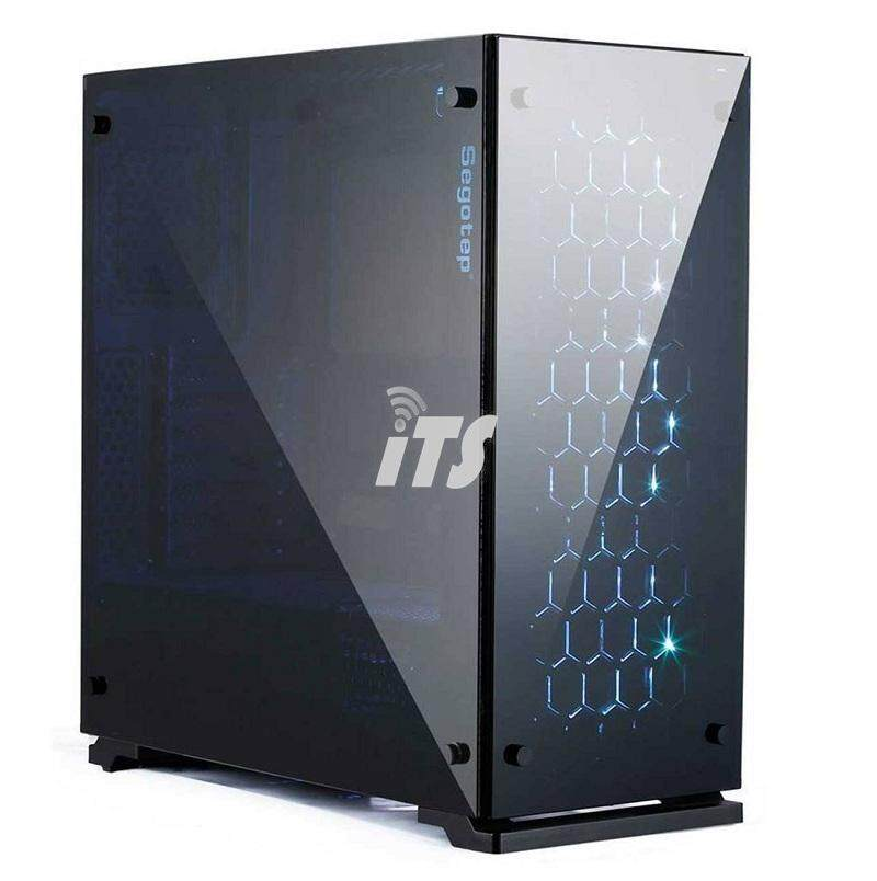 Segotep K7 RGB Fully Tempered Glass Gaming Chassis Malaysia