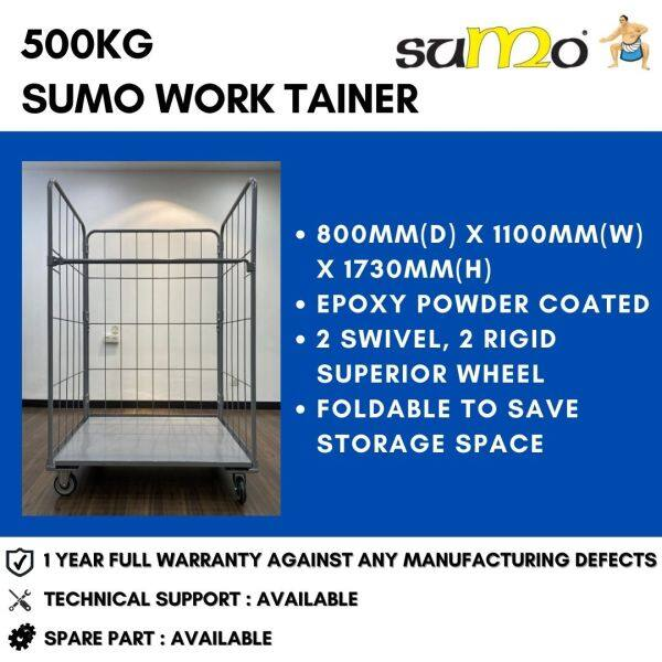 SUMO 500kg Work Tainer Roll Cage Roll Container Logistics Trolley Warehouse Trolley Heavy Duty | 1 Year FULL Warranty