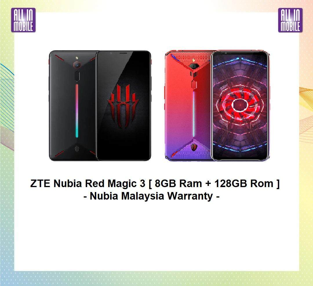 ZTE Nubia Red Magic 3 [ 12GB Ram + 256GB Rom ] Nubia Malaysia Warranty