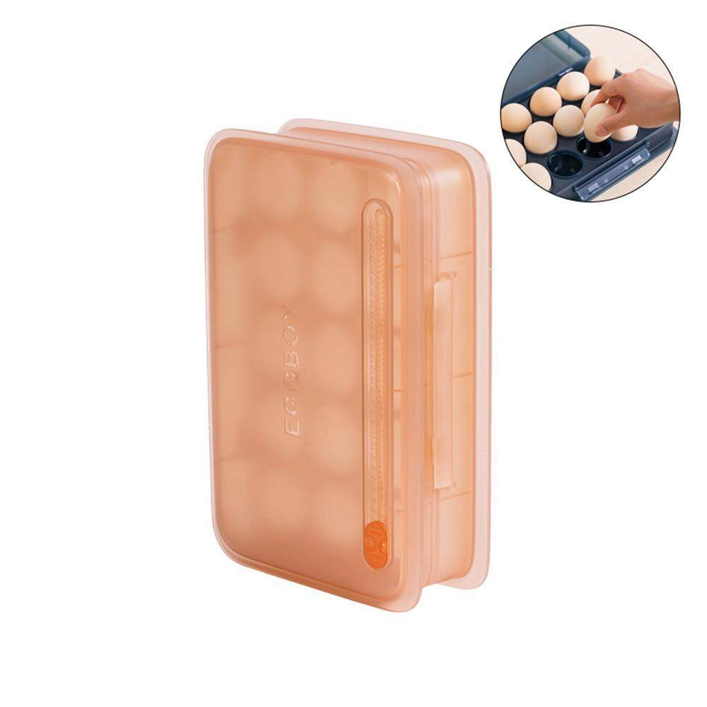 efuture Egg storage box, compartment with egg box to save the refrigerator space storage box.