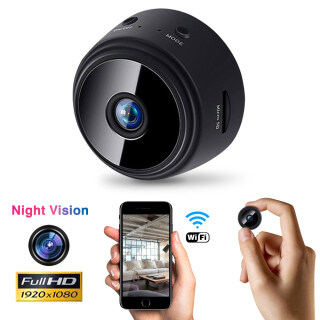 Camera An Ninh IP Không Dây 3Tech A9 WiFi Camera Trong Nhà Ngoài Trời Có Thể Điều Chỉnh 1080 HD 360 Chức Năng Phát Hiện Chuyển Động Báo Động Nhìn Đêm thumbnail