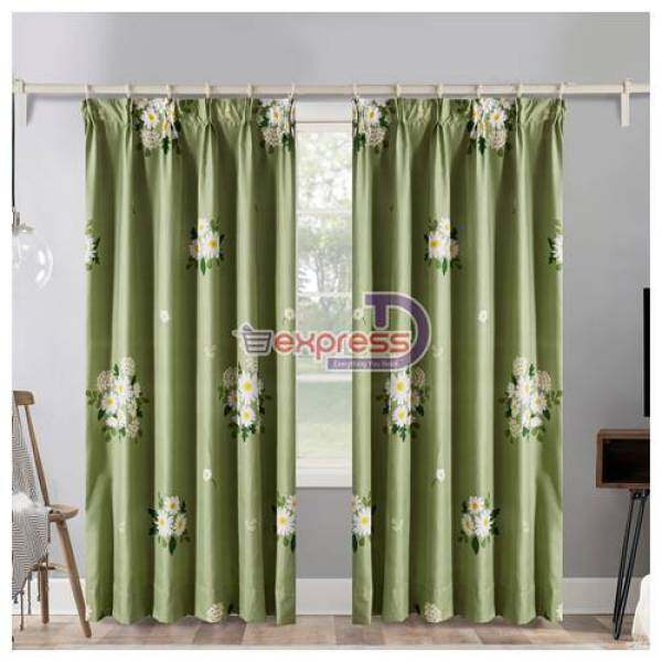Modern Langsir Curtain Semi Blackout Ready Stock In Malaysia