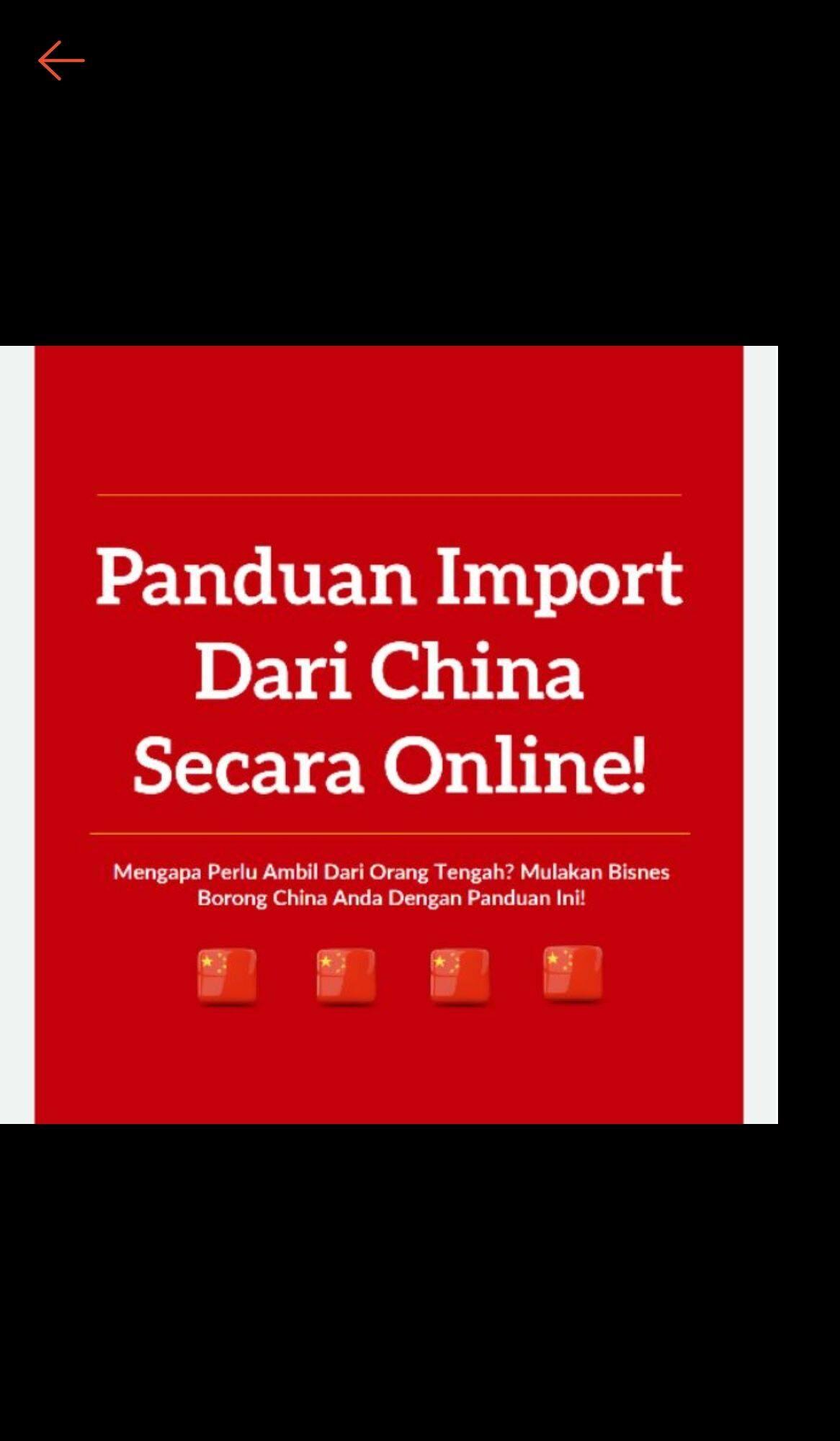 panduan import dari china secara online