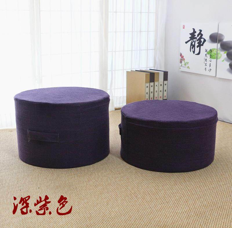 Flax Futon Cushion Washable Floor Thick Household Tea Ceremony Japanese Style Tatami Mat Fabric Extra High
