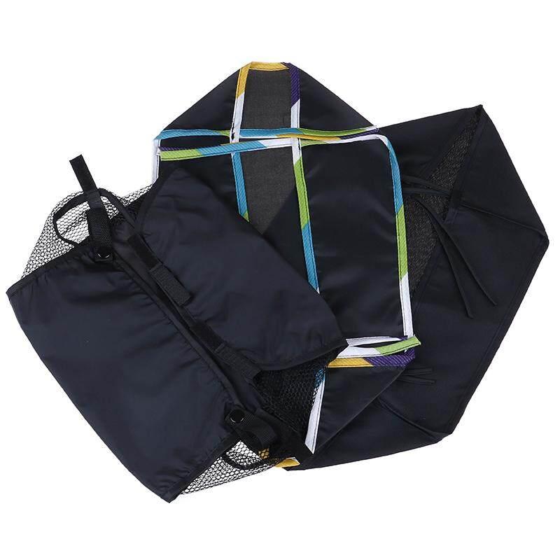 SUTAI Baby Carriage Basket Infant Stroller Pram Bottom Basket Portable Organizer Bag